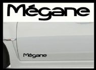 RENAULT MEGANE (OLD) CAR BODY DECALS